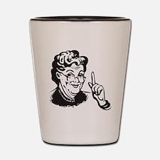 Granny Shot Glass