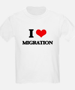 I Love Migration T-Shirt