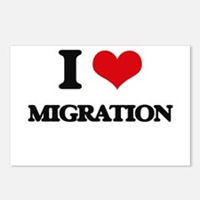 I Love Migration Postcards (Package of 8)