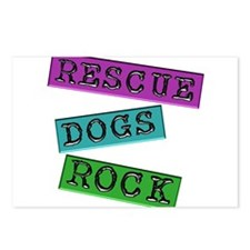 Rescue Dogs Rock Postcards (Package of 8)