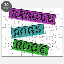 Rescue Dogs Rock Puzzle