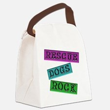 Rescue Dogs Rock Canvas Lunch Bag