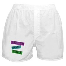 Rescue Dogs Rock Boxer Shorts