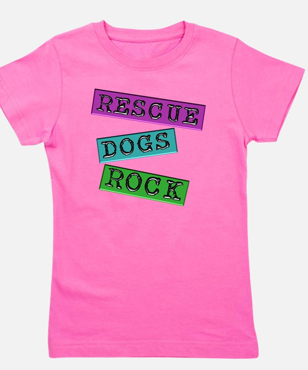 Rescue Dogs Rock Girl's Tee