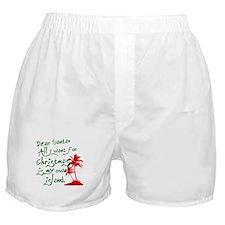 Christmas Island Boxer Shorts