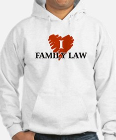 I Love Family Law Hoodie