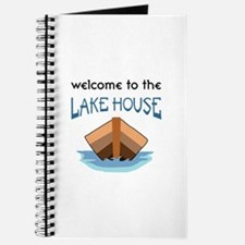 WELCOME TO THE LAKE HOUSE Journal