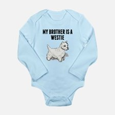 My Brother Is A Westie Body Suit