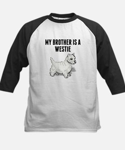 My Brother Is A Westie Baseball Jersey