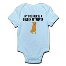 My Brother Is A Golden Retriever Body Suit