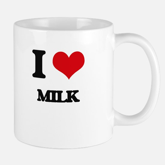 I Love Milk Mugs