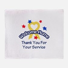 THANK YOU FOR SERVICE Throw Blanket