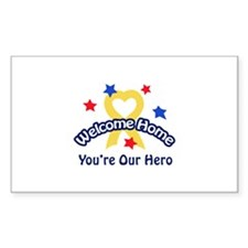 YOURE OUR HERO Decal