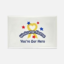 YOURE OUR HERO Magnets