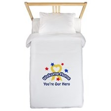 YOURE OUR HERO Twin Duvet