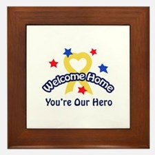 YOURE OUR HERO Framed Tile