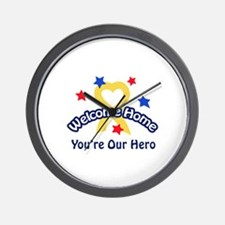 YOURE OUR HERO Wall Clock