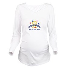 YOURE OUR HERO Long Sleeve Maternity T-Shirt