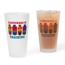 Happiness Is Teaching Drinking Glass
