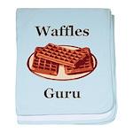 Waffles Guru baby blanket