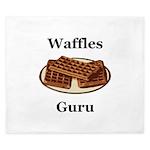 Waffles Guru King Duvet