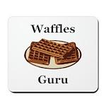 Waffles Guru Mousepad