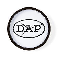 DAP Oval Wall Clock