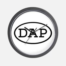 DAP Oval Wall Clock