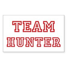 Team HUNTER (red) Rectangle Decal