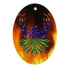 Phoenix Pacis Ornament (Oval)