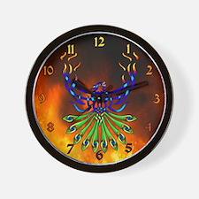 Phoenix Pacis Wall Clock