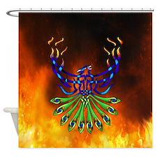 Phoenix Pacis Shower Curtain