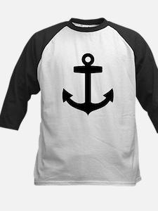 Anchor ship Kids Baseball Jersey