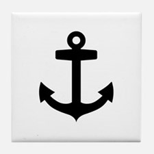 Anchor ship Tile Coaster