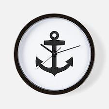 Anchor ship Wall Clock