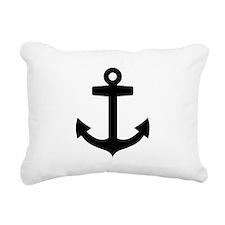 Anchor ship Rectangular Canvas Pillow