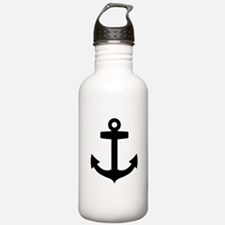 Anchor ship Water Bottle