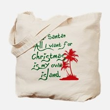 Christmas Island Tote Bag