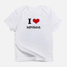 I Love Minimal Infant T-Shirt