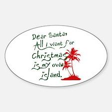 Christmas Island Decal
