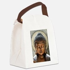 Buddha Blessing Canvas Lunch Bag