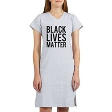 Black Lives Matter Women's Nightshirt
