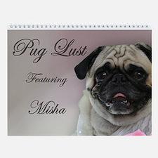 Pug Lust Lingerie Wall Calendar