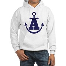 Anchor Monogram A Hoodie