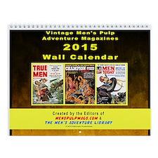 2015 Men's Adventure Magazines Wall Calendar
