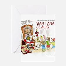 Santana Claus Greeting Cards