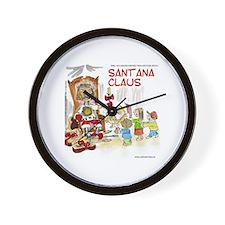 Santana Claus Wall Clock