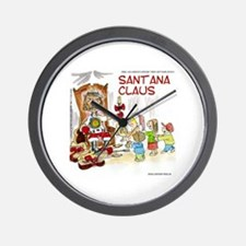 Santana Claus Wall Clock