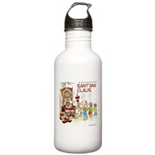 Santana Claus Water Bottle
