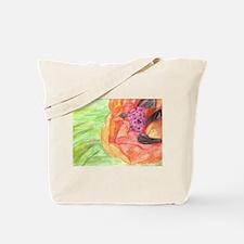 Giant Poppy Tote Bag